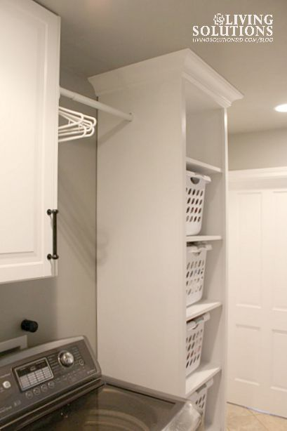 BLOG***Laundry Hamper Cabinet