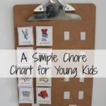 Simple Chore Charts