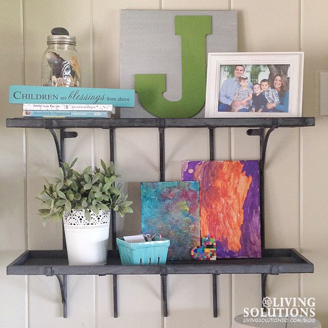 Shelfie with Green J