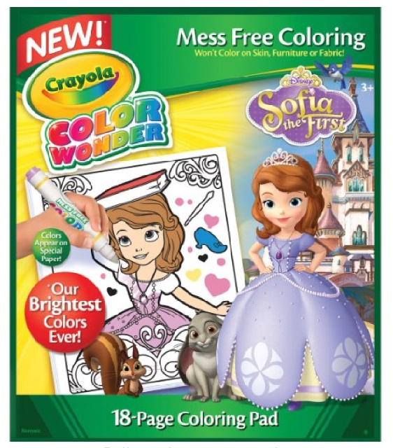 Color Wonder Coloring Books*