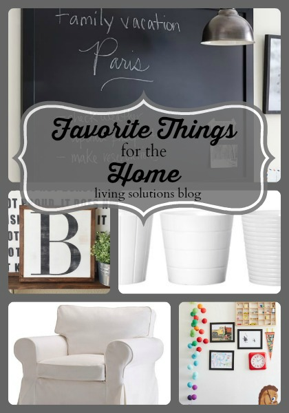 Favorite Things for the Home