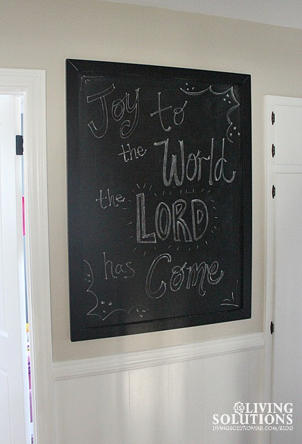 Pottery Barn Christmas Chalkboard