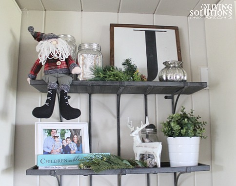 Shelfie Christmas Decor