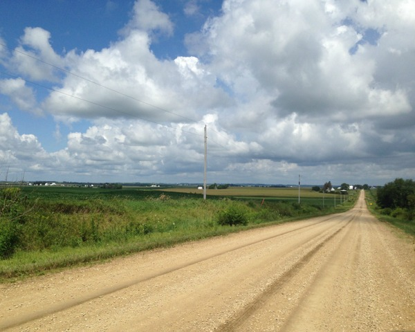 Dirt Roads in Iowa