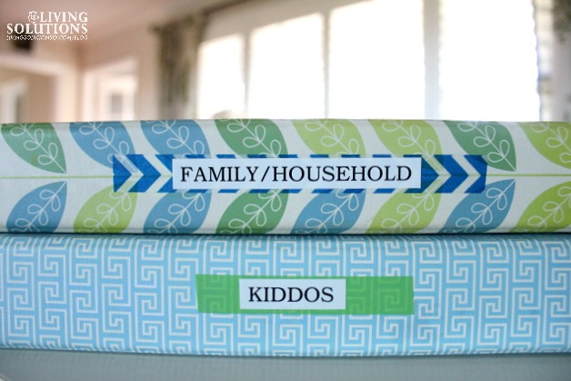 Family Household and Kid Binder