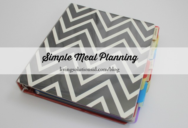 Simple Meal Planning