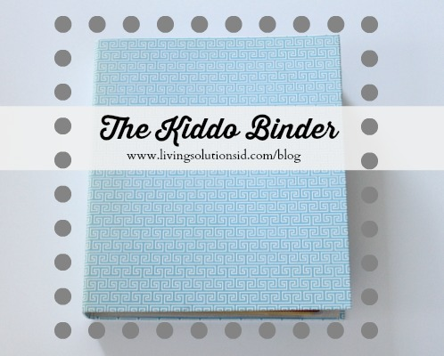 The Kiddo Binder
