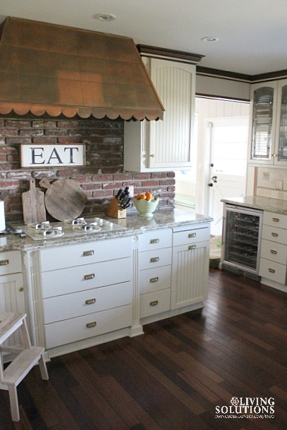 White Kitchen and Cutting Boards