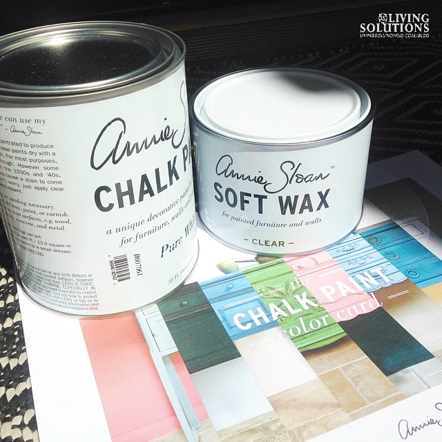 Annie Sloan Pure White Chalk Paint and Wax