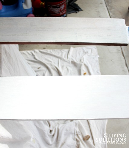 Compairing One Coat vs Two Coats of Chalk Paint
