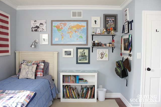 Gallery Wall Boys Room