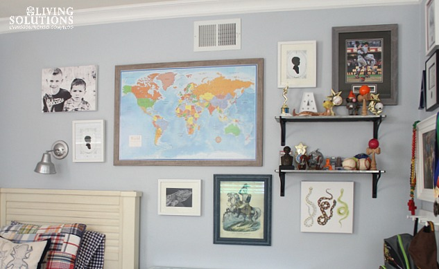 Gallery Wall With Map