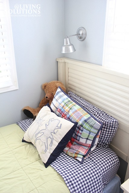 Pottery Barn Kids Madras Quilt-Gingham Sheets
