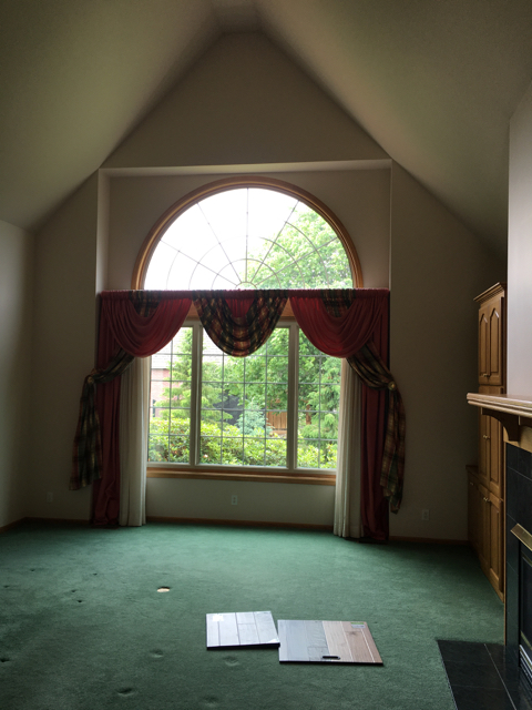 Before Greatroom Window