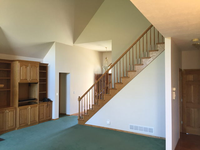 Before Staircase:great room