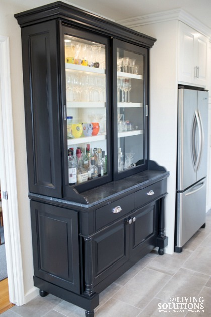 Black Custom Hutch
