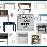 Shared Boys' Room ~ Student Desk Round Up
