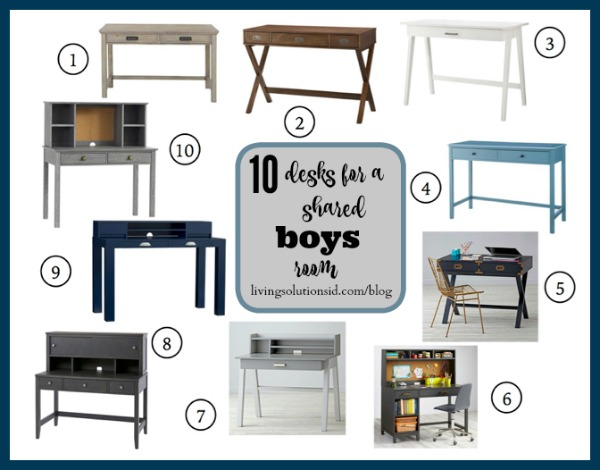 Boys Desk Round Up*