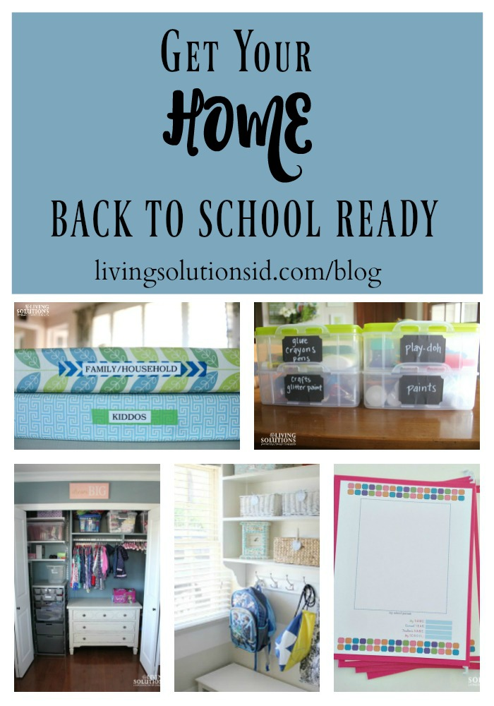 Get Your Home Back To School Ready 1