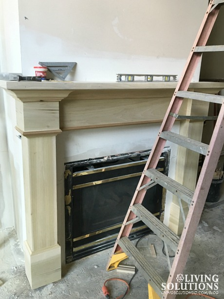 Progress Fireplace