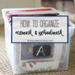 Kids' Art & School Work Organization