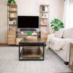Before & After – A Young Family's Main Living Space