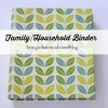 Household Systems ~ Household Binder & Home Project Binder