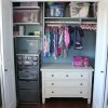 An Organized Little Girl's Closet